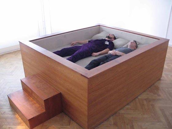 凄くいい夢が見れそう!世界で最もクールなベッドたち