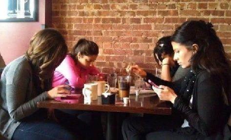 現代的コミュニケーションの写真