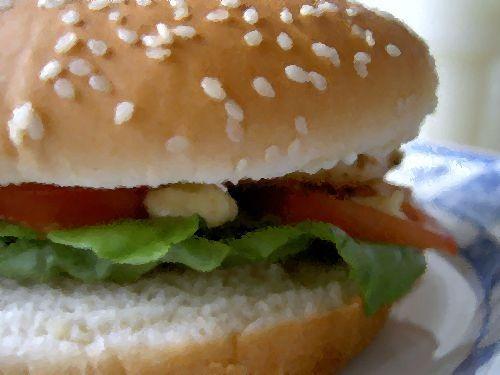 高級すぎるハンバーガーが凄い豪華な写真