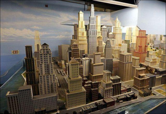 16年の歳月を費やして作られた巨大鉄道模型の写真