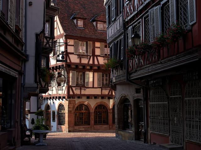 フランスアルザスの街「コルマール」の美しい写真