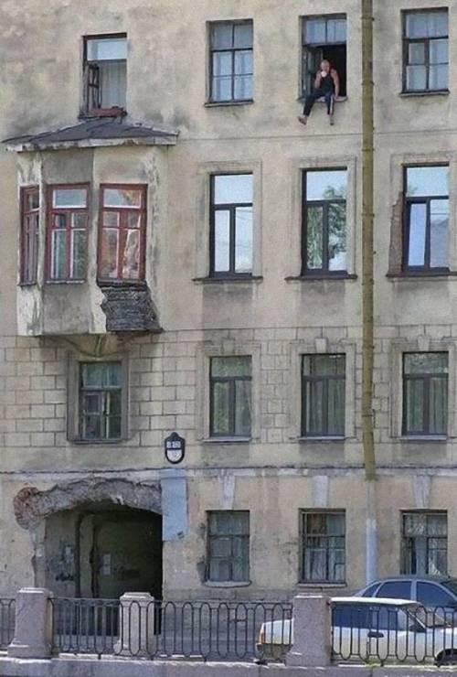 ロシアへようこそ!と思わせてくれる写真