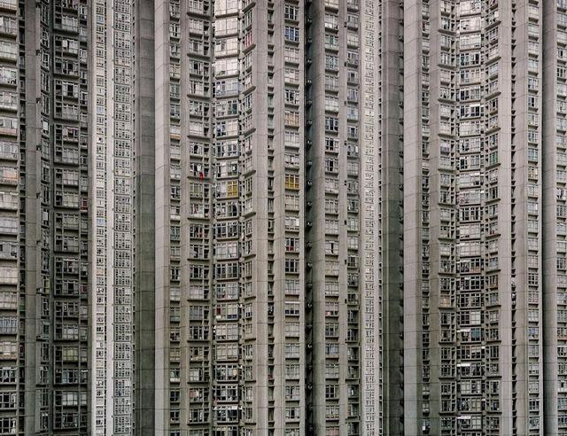 香港の高層マンション