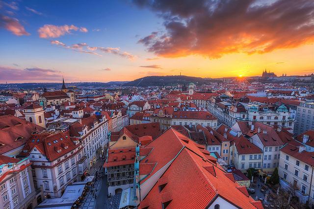 千年の歴史を誇る百塔の街 プラハの写真12枚