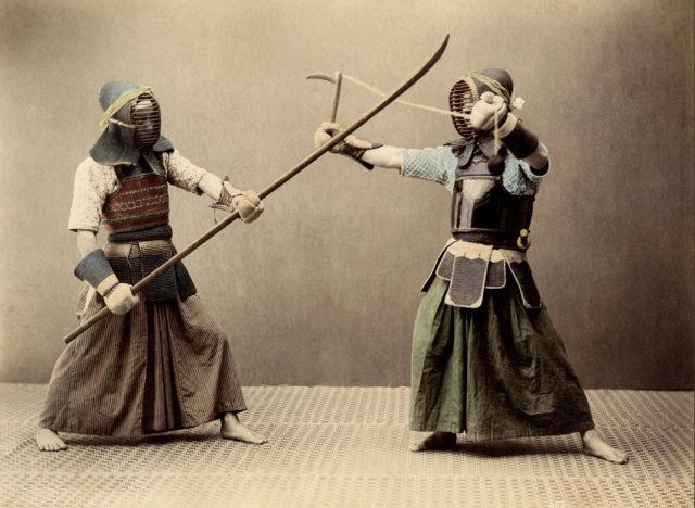 外国人が集めたという侍(SAMURAI)の写真