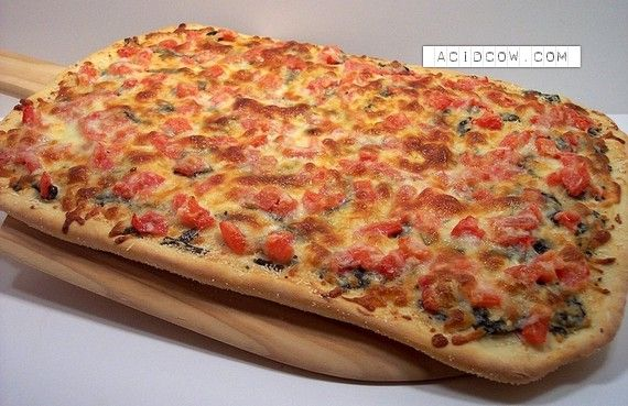 とにかく食べたくなる美味しそうなピザの写真