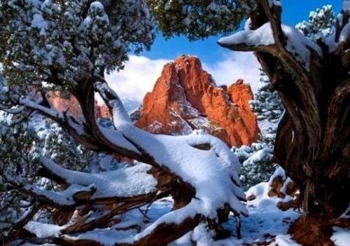 大自然が印象的な写真