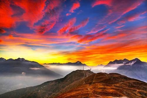 絵画のように美しい風景の写真