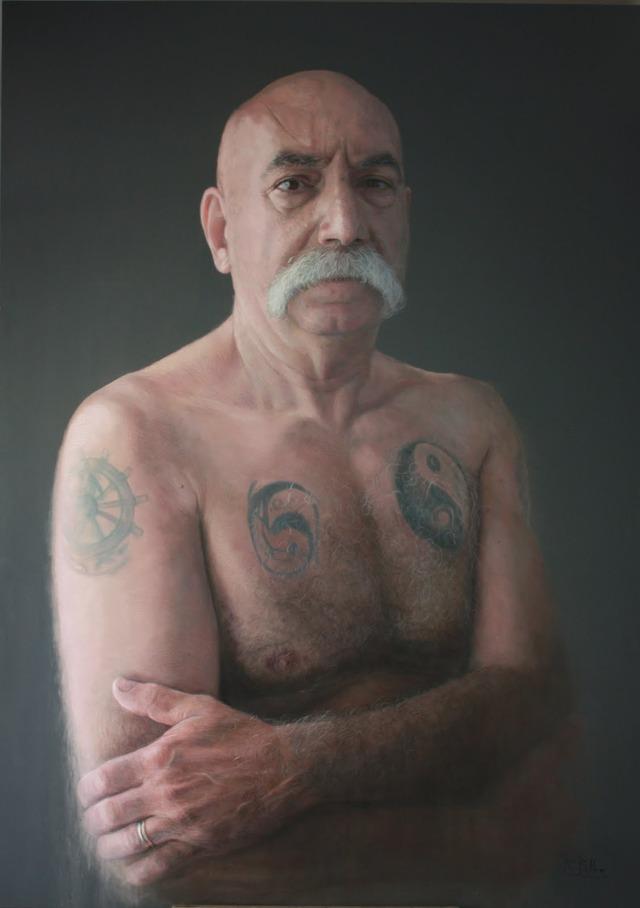 ルベン・ベロッソのチョークアート12枚